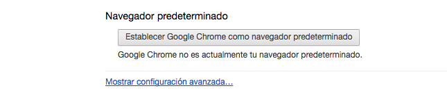 Config Chrome Avanzados