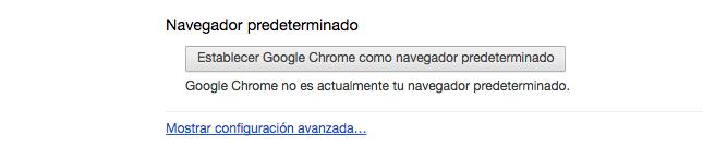 Config Chrome Avanzados