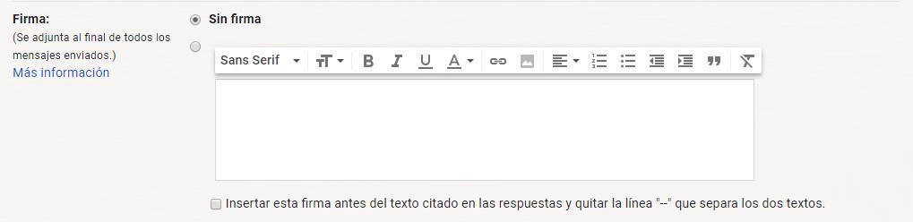 gmail firma