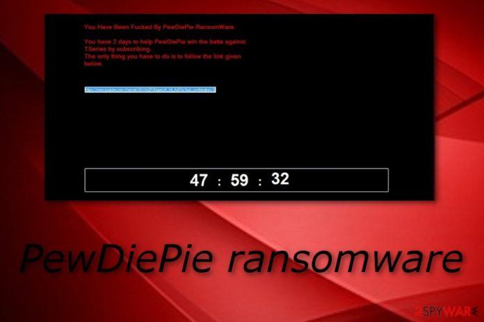 pewdiepie ransomware