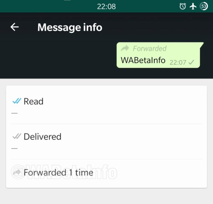 whatsapp reenvio